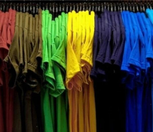 Máquina de estampar camisetas